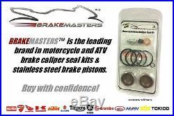Honda CBR600 F4 front brake caliper piston seal rebuild kit 2002 2003 2004
