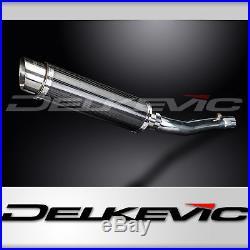 Honda CBR600 F4i DL10 14 Carbon Round Exhaust Muffler Slip-on 01 02 03 04 05 06
