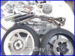 Honda CBR600 f2 Race Track bike. Maxton shock, Many spares, wets, wheels