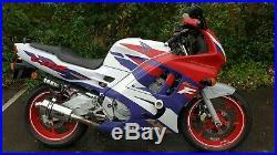 Honda CBR600F Hurricane 1991 MOT 23419miles RELISTED