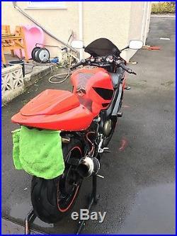 Honda CBR600F Sport FS F4i 2001 FSH, MOT