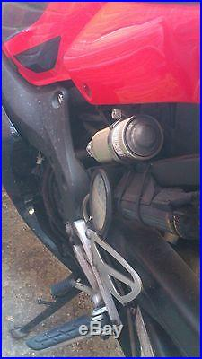 Honda CBR600F Sport Red 14k Great Condition with Extras