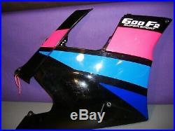 Honda CBR600F2 RH lower cowl fairing 64301-MV9-670 1991