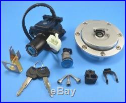 Honda CBR600F4/F4i Ignition Switch Fuel Gas Cap Seat Lock Key Set For 2001-2006