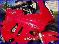 Honda CBR600f 1998 50th Anniversary Model Limited Edition No 38