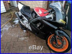 Honda CBR600f track bike