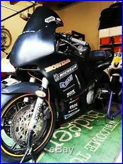 Honda CBR600f3 Track Bike with V5 Goldern Era Superport