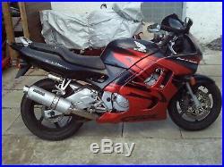 Honda Cbr 600 F3 Full Front End Forks Wheel Brakes Yoke Mudguard 1997 Fv