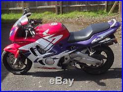 Honda Cbr 600f 1998, Motorbike Motorcycle
