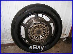 Honda Cbr600 F3 Ft Front Wheel, Tyre And Brake Discs Dunlop 120/70/17