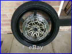 Honda Cbr600 F3/ Nc29/ Cbr900 Fireblade Front Wheel And Discs