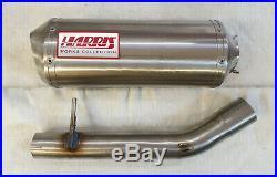 Honda Cbr600f Pc 35 1999/00 Exhaust Harris Works Slip On Road Legal