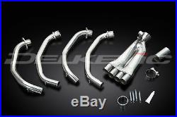 Honda Cbr600f-sport 01-07 Stainless Steel 4-1 Exhaust Downpipes Oem Compatible