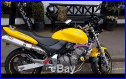Honda Hornet CBR600F Sports Yellow Motorbike