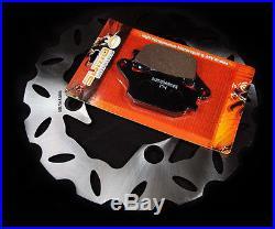 Honda Rear Quality Brake Rotor + Pads CBR 600 F1/F2/F3/F4 (1991-2006) RR (03-06)