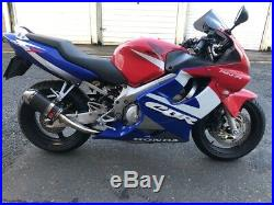 Honda cbr 600 F low mileage