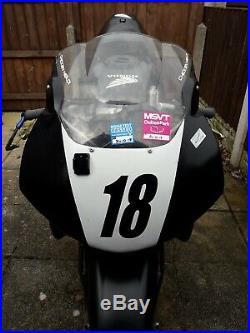 Honda cbr 600 f2 track / race bike