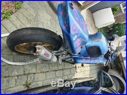 Honda cbr 600 f3 track bike and package