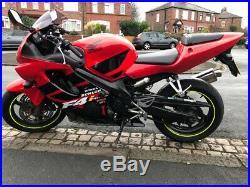 Honda cbr 600 f4i 2001