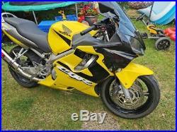 Honda cbr 600 f4i 22k 2001