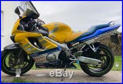Honda cbr 600f 2001