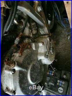 Honda cbr600 F1 1990 project