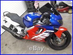 Honda cbr600 f motorbike, 600cc