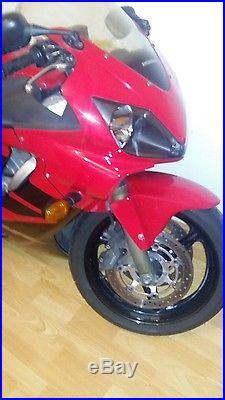 Honda cbr600f6 2006 full honda service history