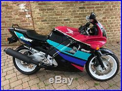 Immaculate Honda CBR600 F-M 1991 in rare Benetton colours
