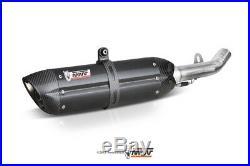 MIVV-Auspuff HONDA CBR 600 F Bj. 01-10 (SUONO, Edelstahl schwarz, Motorrad)