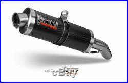 MIVV-Auspuff HONDA CBR 600 F Bj. 91-98 (OVAL, Carbon, Motorrad)