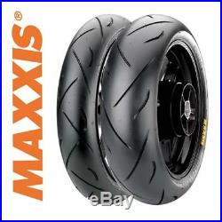 Maxxis Supermaxx MAPS Tyre Pair 120/70/17 + 180/55/17 Honda CBR600F Sport 01-02