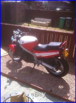 Motorcycle honda cbr 600f