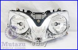 Mutazu Premium Quality Headlight Housing fits Honda CBR 600 F4I 2001-2007