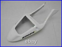 NT Fairing White Red Injection Fit for Honda CBR600F4I 2001-2003 Bodywork f060