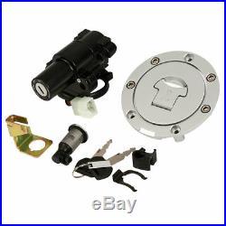 New Honda CBR600F4/F4i Ignition Switch Fuel Gas Cap Seat Lock Set