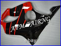 Red Black ABS Injection Mold Bodywork Fairing Panel Kit for CBR600 F4 1999-2000