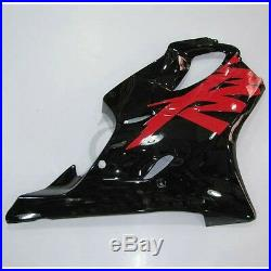 Red Black Injection Fairing Bodywork Set For Honda CBR600F4 CBR 600 F4 1999 2000
