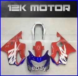 Red Blue Fairing Kit Fairing Set For Honda Cbr600f 1999 2000 19