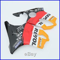 Repsol INJECTION ABS Fairing For Honda CBR600F4I CBR 600 F4I 2004-2007 05 06 3A