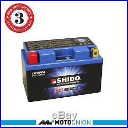 Shido LTZ10S Lithium Ionen (LiFePO4) Batterie (YTZ10S)