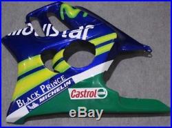 Stocked Fast Ship Fairing Body Panel for Honda CBR600 CBR 600 F3 1995 1996 AG