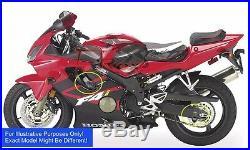 T-Rex Racing 2001 2006 Honda CBR600 F4i No Cut Frame Sliders Spools