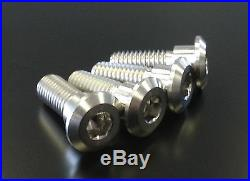 Titanium Rear Disc Rotor Mount Bolts Stainless Fits Honda Cbr600f1-f5 2000-2004