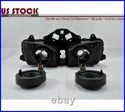 US Headlight Headlamp Clear For Honda CBR600RR CBR600 F5 2003 2004 2005 2006