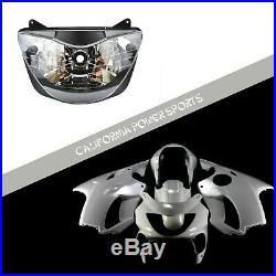 Unpainted Fairing Set Kit + Headlight For Honda 1999 2000 CBR600 CBR 600 F4
