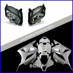 Unpainted Fairing Set Kit + Headlight For Honda 2009-2012 10 CBR600RR CBR600 F5