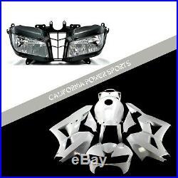Unpainted Fairing Set Kit + Headlight For Honda 2013-2019 16 CBR600RR CBR600 F5
