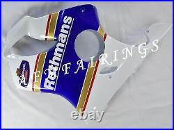 White Blue Rothmans ABS Injection Mold Bodywork Fairing Kit for CBR600 F4 99-00