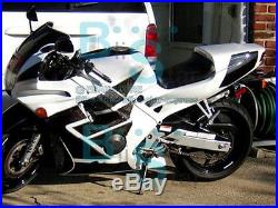 White Glossy ABS Fairing With Tank Cover Kit Fit HONDA CBR600F2 1991-1994 49 A1
